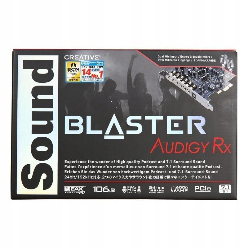 Karta dźwiękowe Creative AUDIGY RX 70SB155000001 (