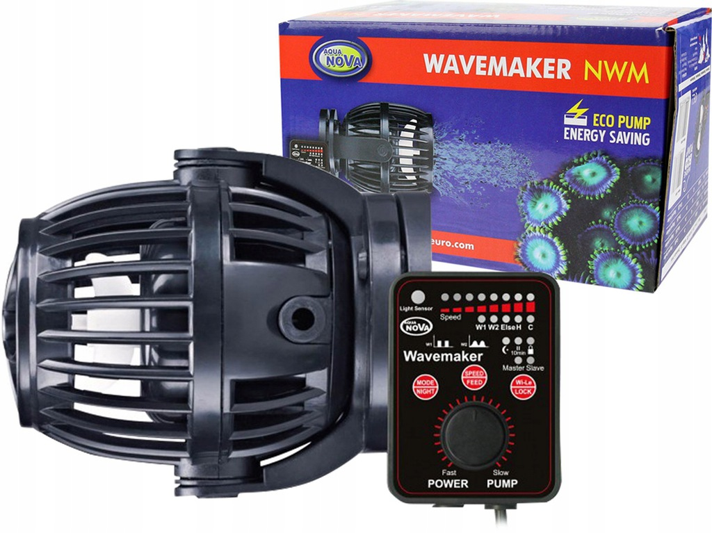 AQUA NOVA NWM-8000 l/h Falownik + kontroler 23W