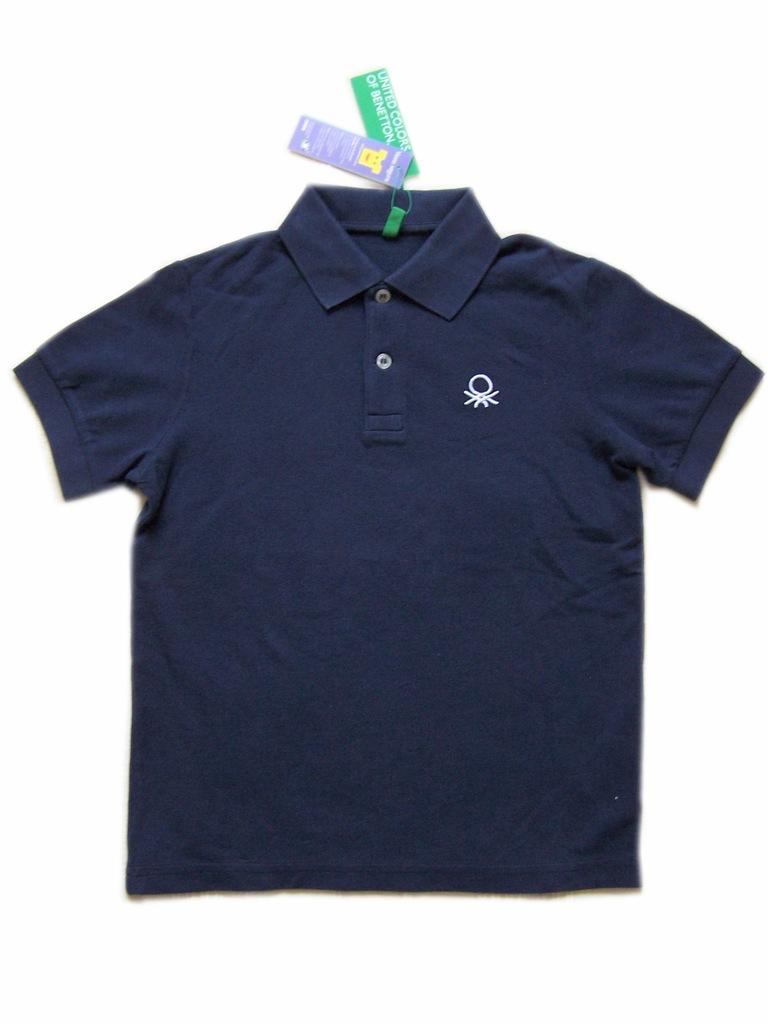 BENETTON koszulka polo chłopięca na 140 cm LA7