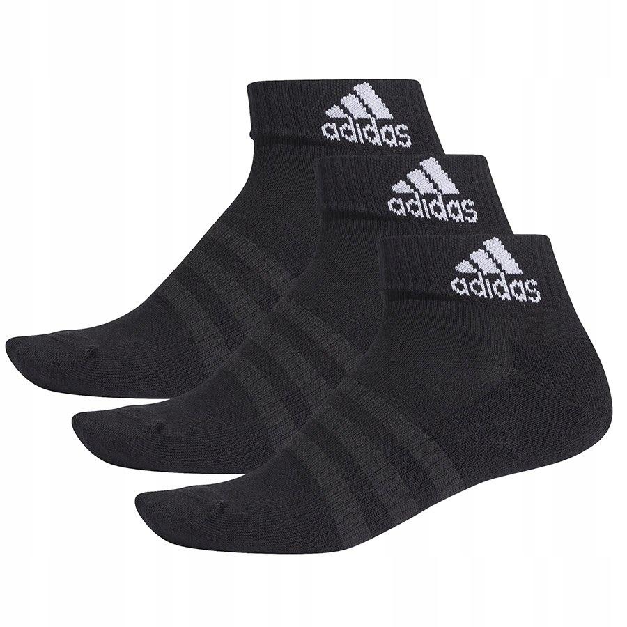 Skarpety adidas Cush ANK 3PP DZ9379 czarny 40-42