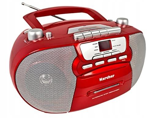 RADIO KARCHER RR5040 ODTWARZACZ CD/AUX/KASETY