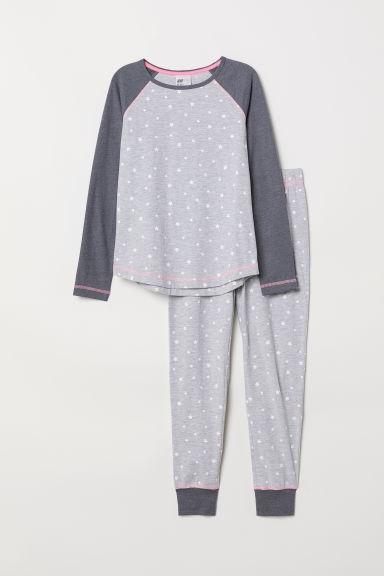 H&M Dżersejowa piżama 134/140cm 8/10lat