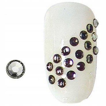 PEGGY SAGE Cyrkonie do paznokci black diamond x100