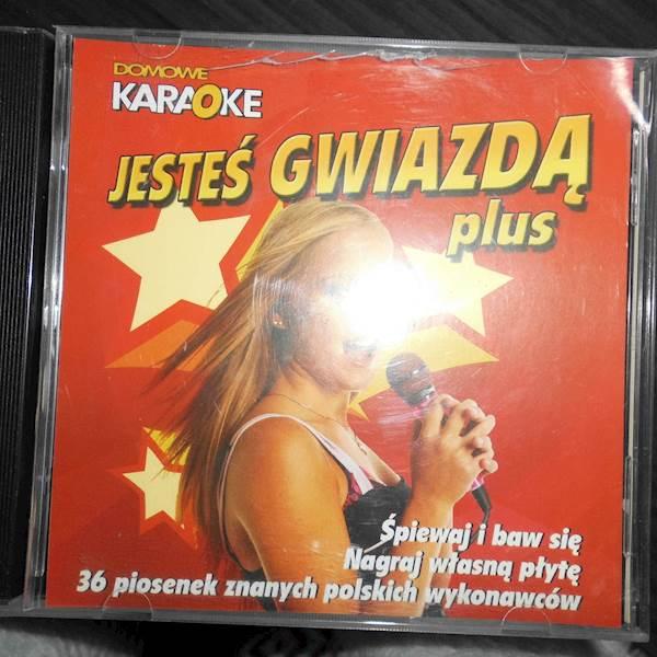 Domowe karaoke Jesteś gwiazdą Plus - CD album