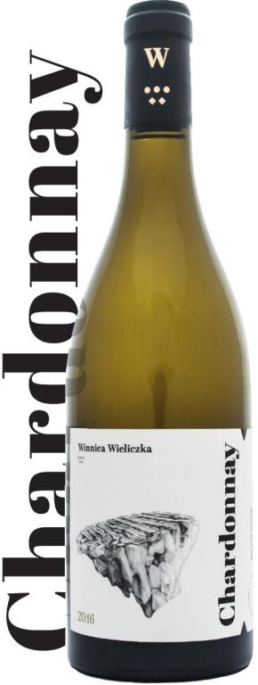 Butelka wina Chardonnay 2016 o numerze 0001