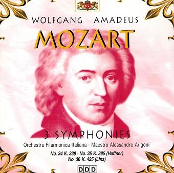 Mozart - 46 Symphonies Vol. 8 (CD)
