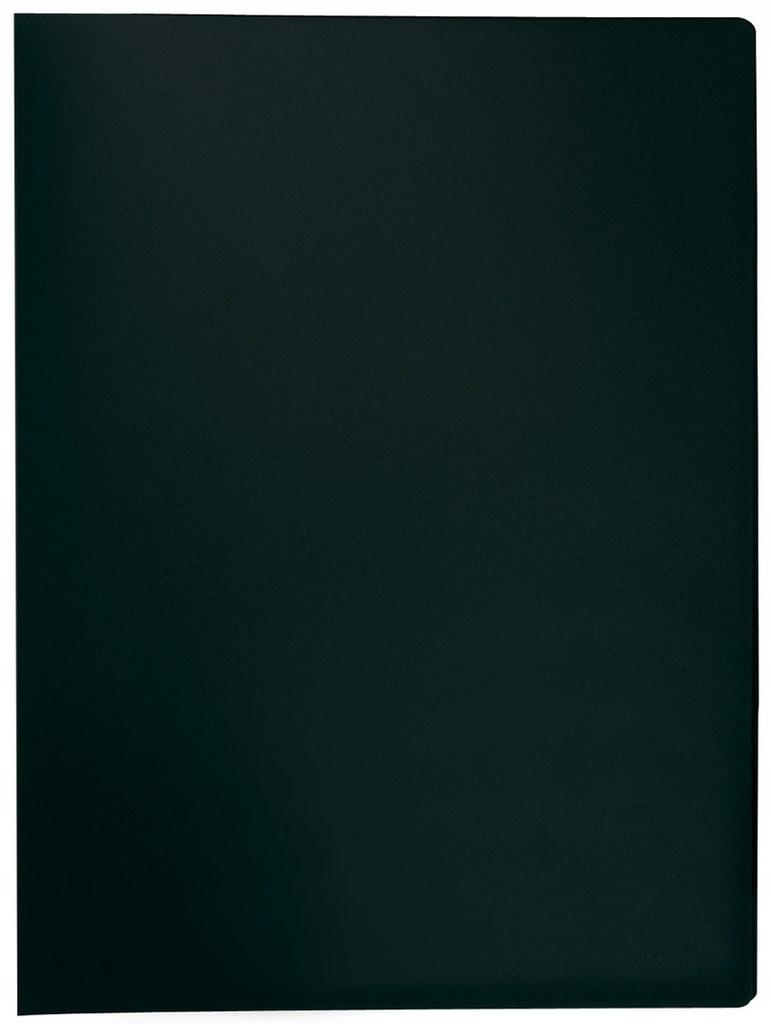 Teczka ofertowa Q-connect PP A4/10 koszulek czarn