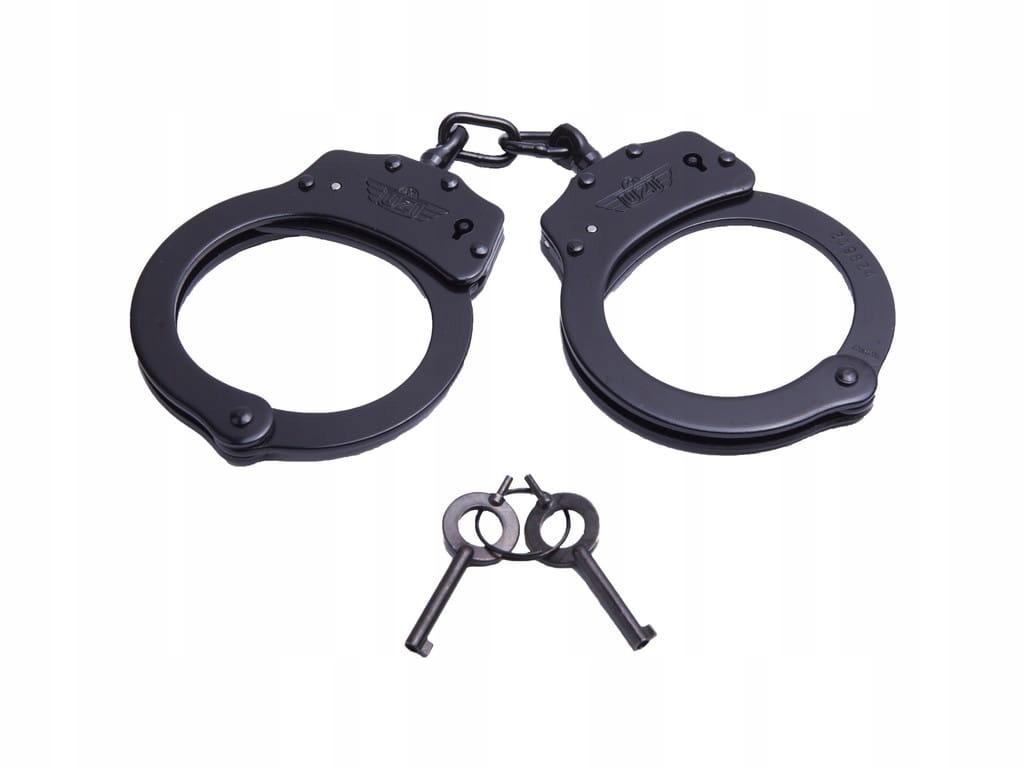 Kajdanki łańcuszkowe Black UZI Handcuff Chain