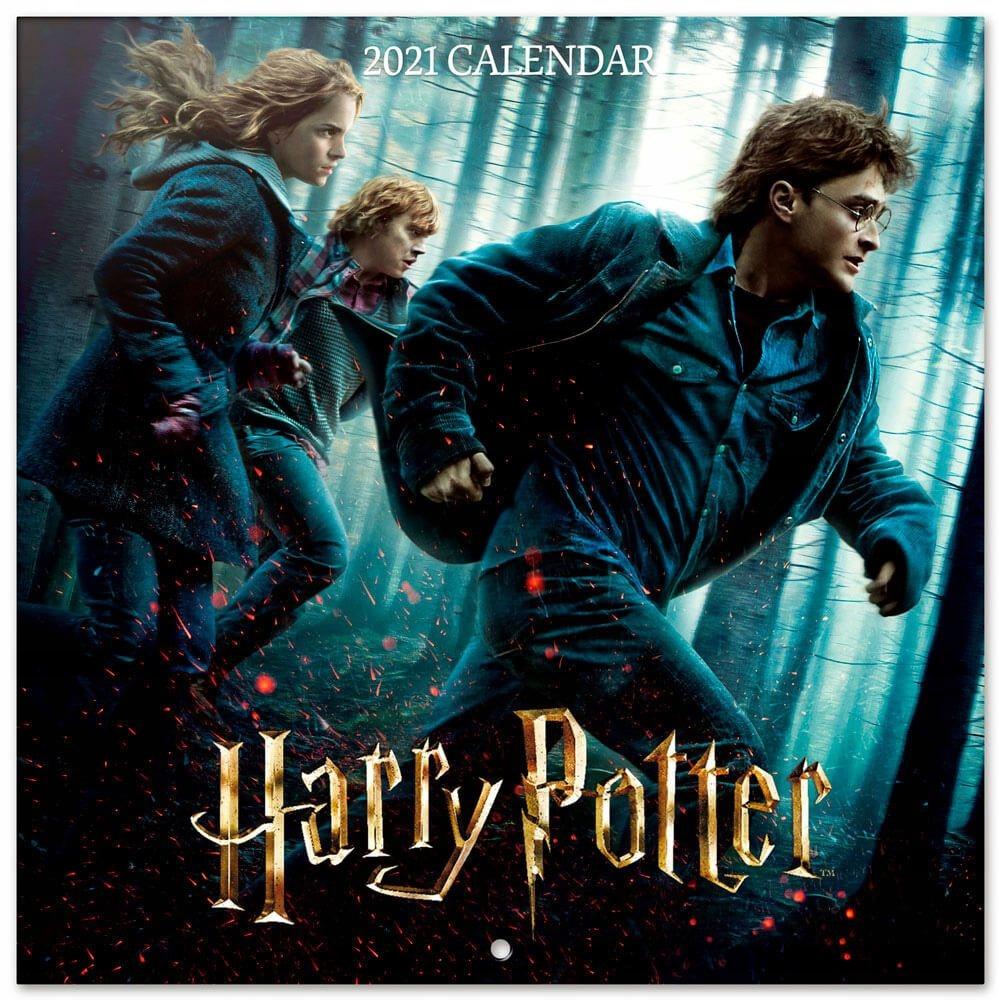 Harry Potter Oficjalny kalendarz ścienny 2021
