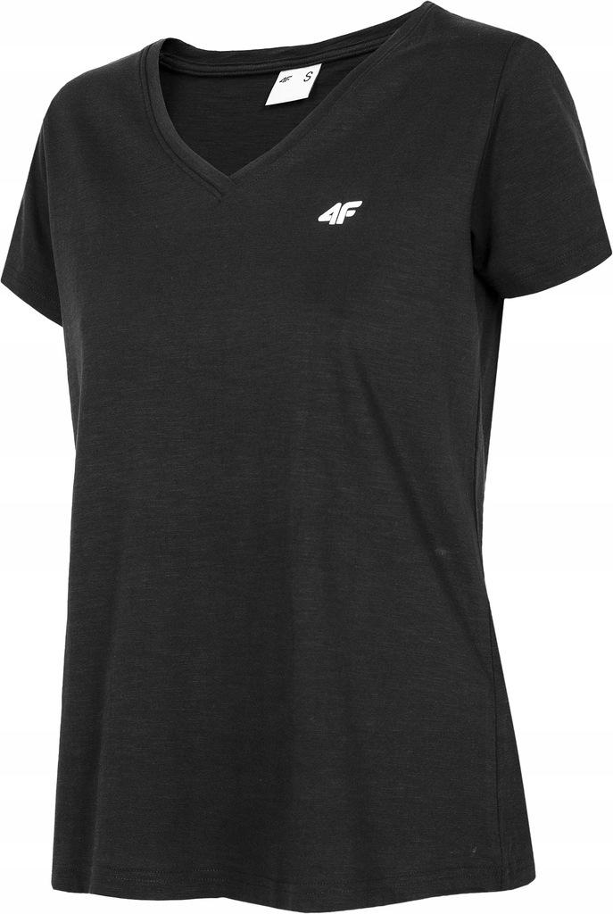 Koszulka damska T-shirt 4F TSD002 L20 czarna XS