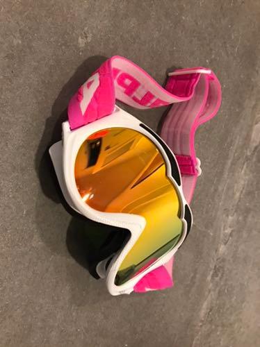 Gogle narciarskie ALPINA różowe neon