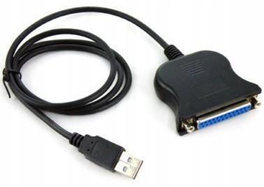 Adapter / kabel USB - LPT żeńskie Savio CL-47