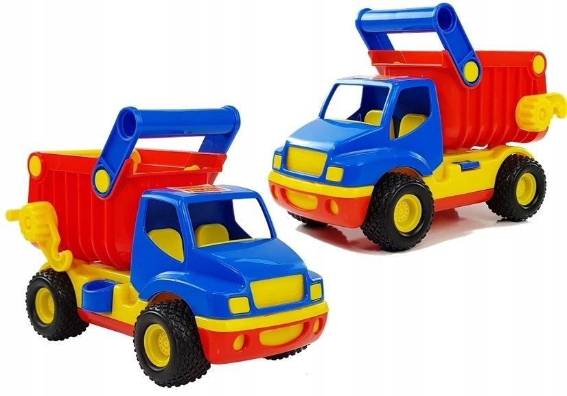 Auto ConsTruck samochód - wywrotka (w siatce) 9654