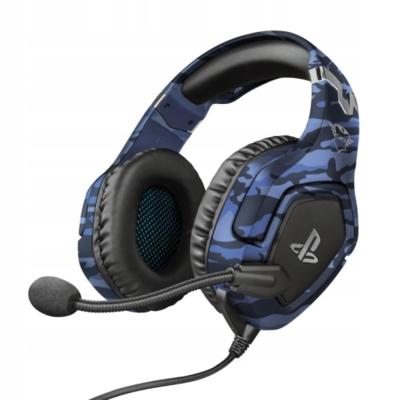 Słuchawki z mikrofonem GXT 488 Forze-B niebieskie