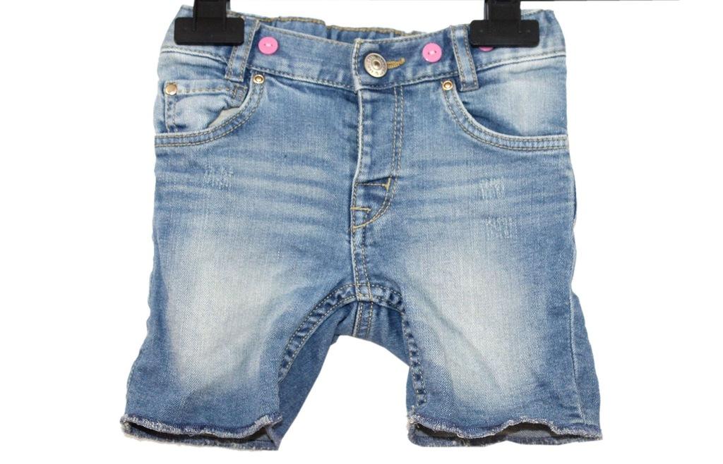 a4_H&M_Dziewczęce Spodenki Jeans Przetarcia_80