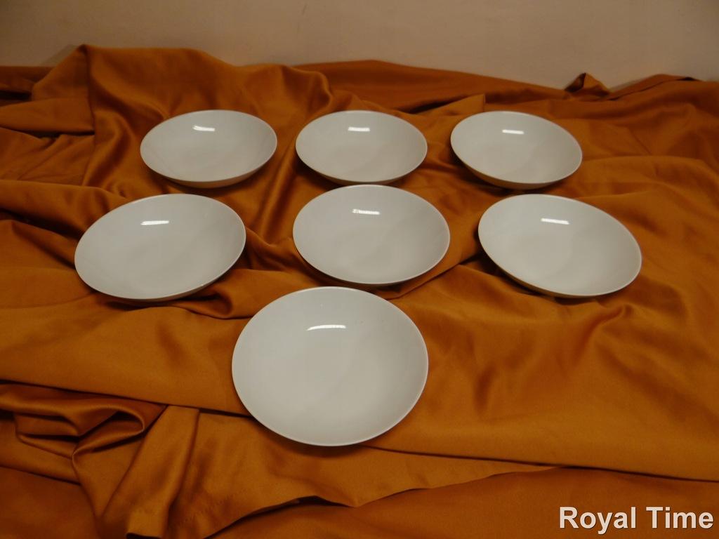 Rosenthal zestaw białe talerze głębokie 7 szt