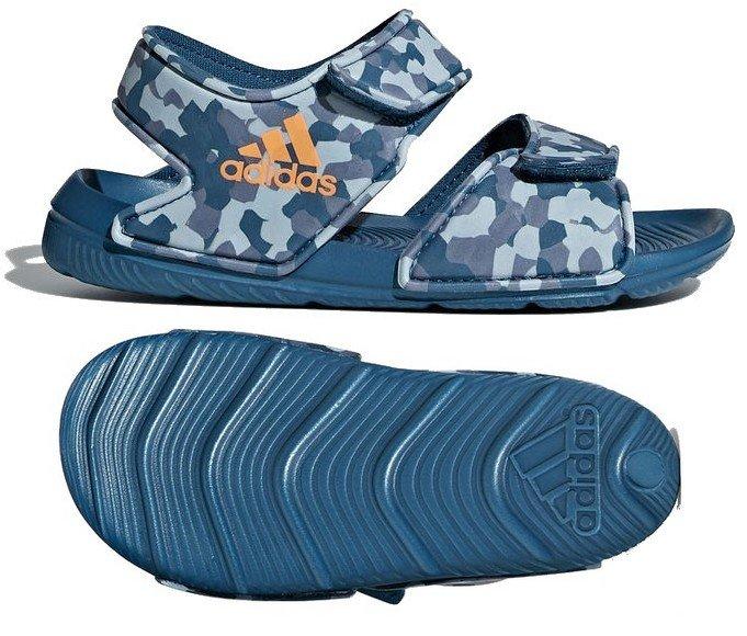 adidas sandały chłopięce ALTASWIM moro CQ0047 28