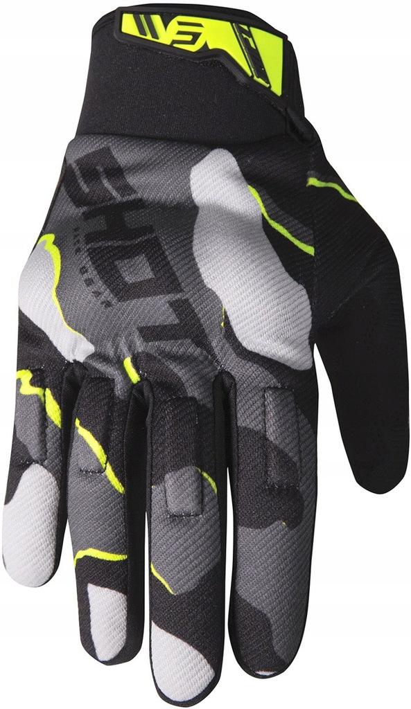 Rękawice CROSS,ENDURO,MTB SHOT CAMO NEON XL / 11