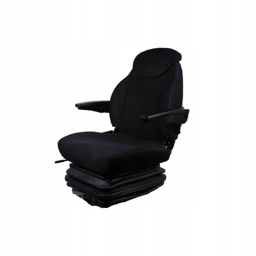 Siedzenie fotel z amortyzacja koparka ciągnik