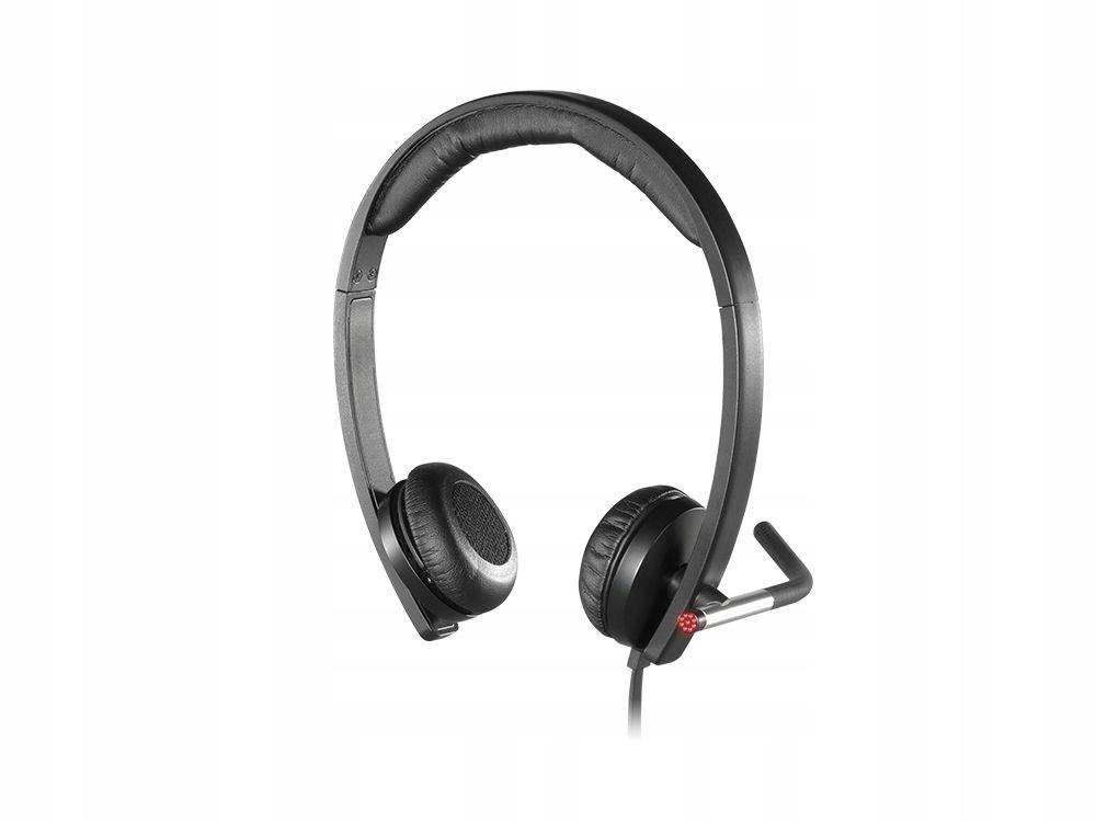 słuchawki z mikrofonem USB Logitech H650e