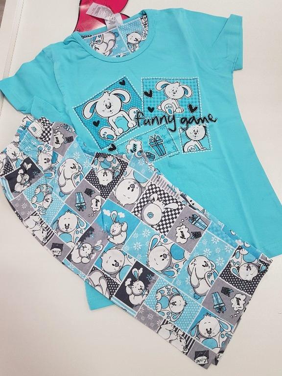 Piżama na lato dla dziewczynki 9-10 lat