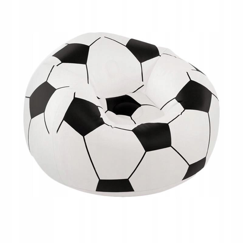 Fotel dmuchany piłka nożna 90x90cm iko