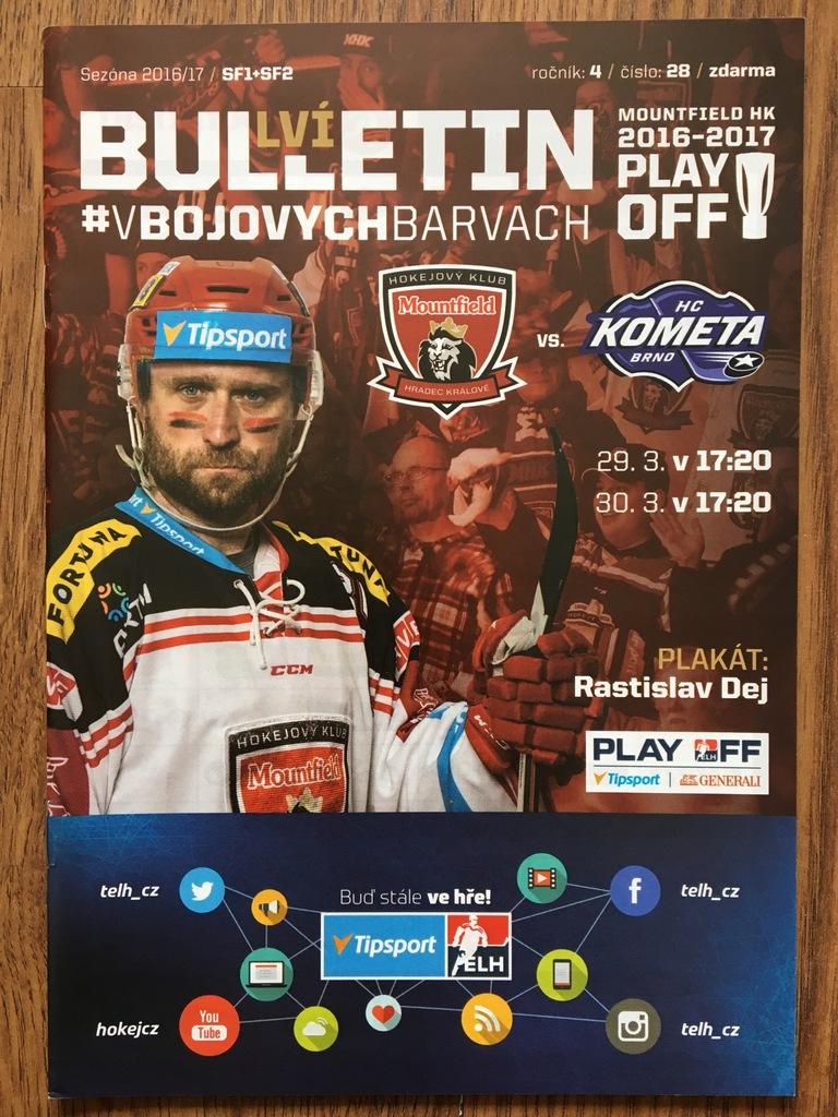 Mountfield HK - HC Kometa Brno / 29-30.03.2017