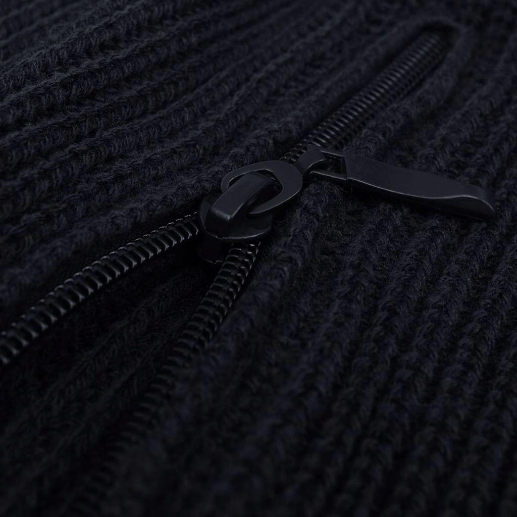 Sweter męski do pracy, granatowy, rozmiar XXL