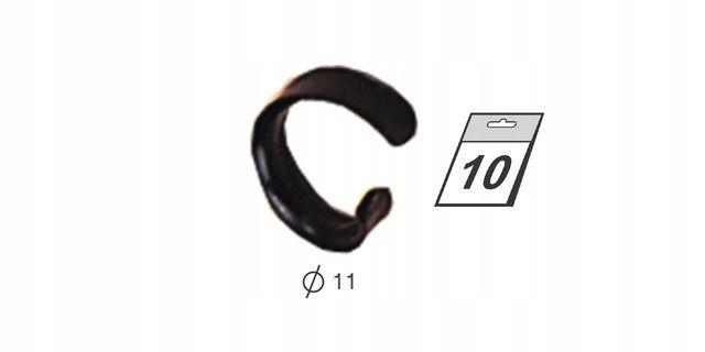 Zapinka do walkow spiralnych GRUBYCH (10 szt) Z