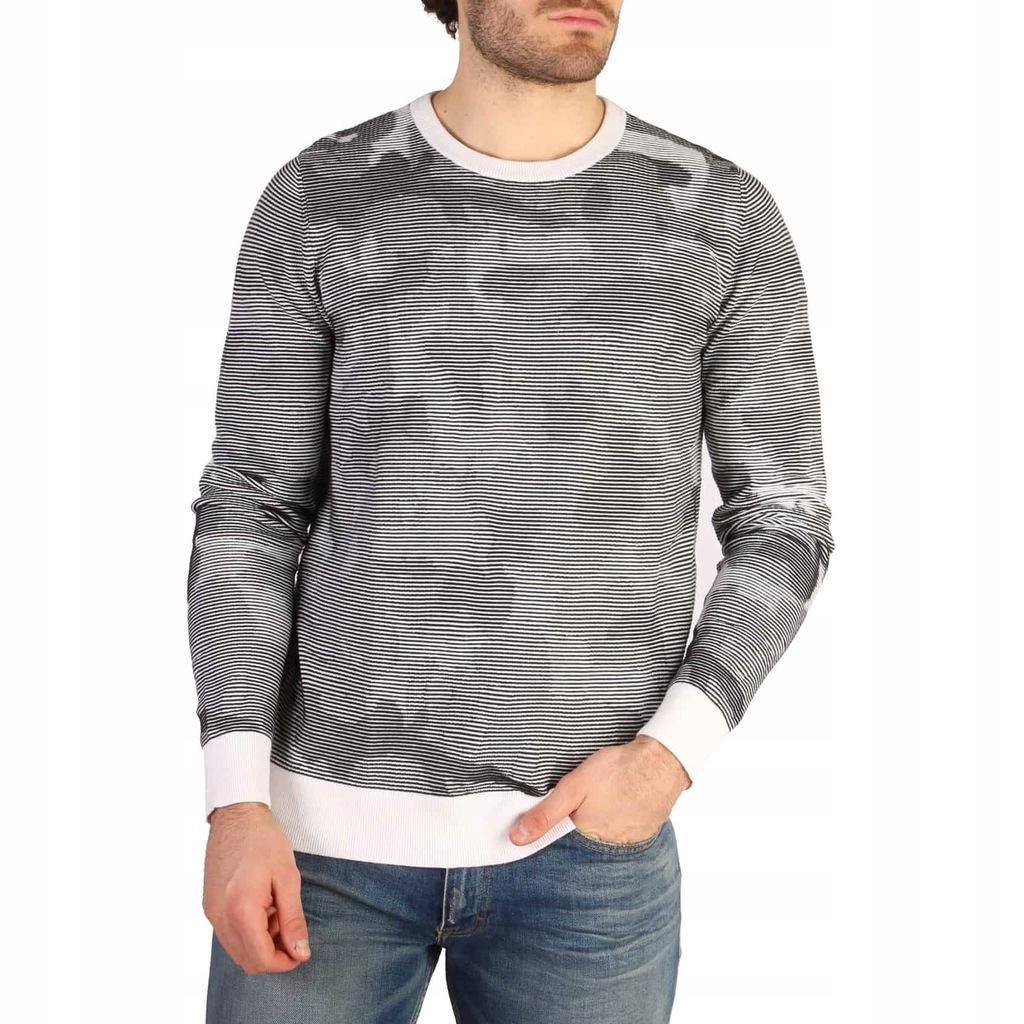 Sweter Męski Calvin Klein - J30J304765 - Czarny M