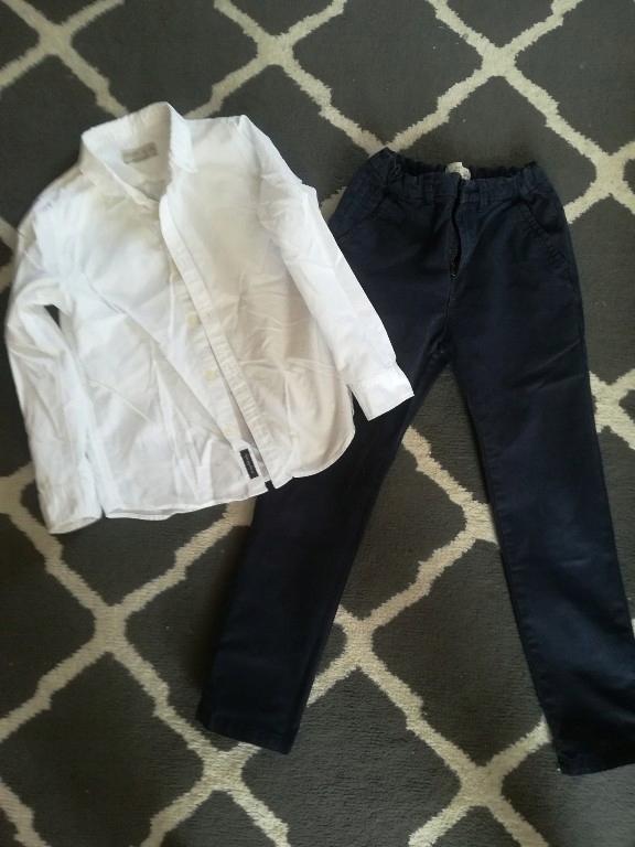 spodnie plus koszula Zara