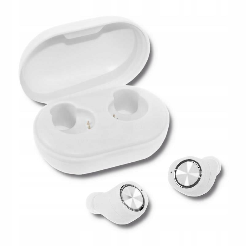 Słuchawki z mikrofonem Qoltec bezprzewodowe Twins