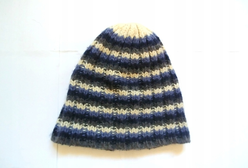 H&M DIVIDED czapka w paski