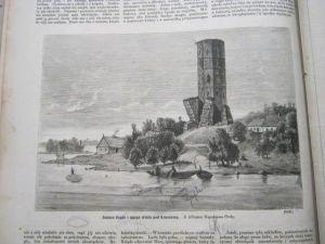 Gopło Mysia Wieża Kruszwica Przyszowa Wójcicki1879