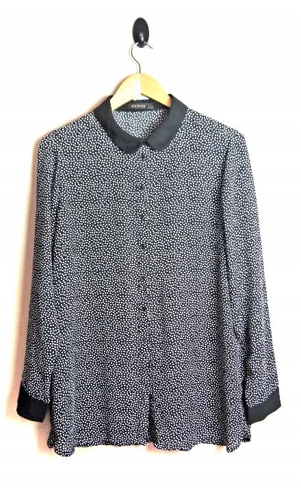 Reserved bluzka z kolnierzykiem R M