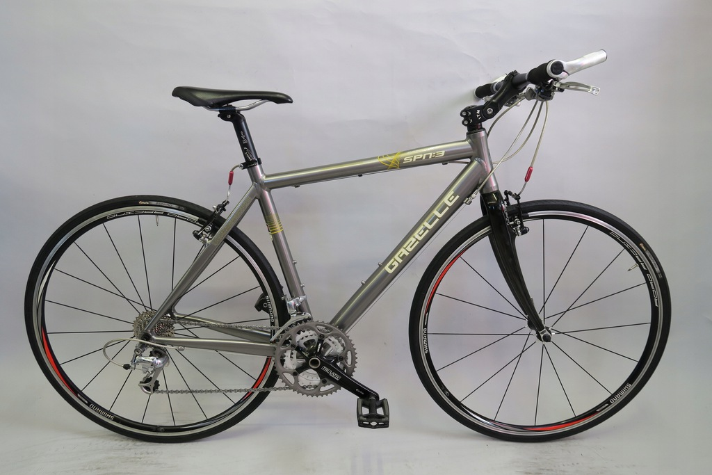 Rower fitnes gravel Gazelle SPN 3 Shimano 105