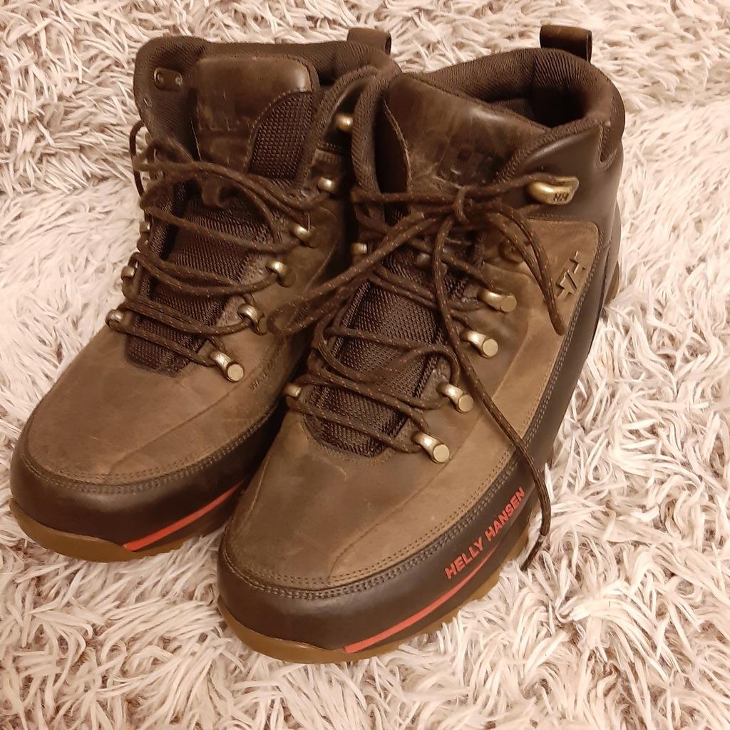 HELLY HANSEN WATERPROOF męskie buty skórzane 42,5