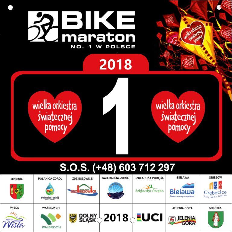 Bike Maraton 2018 - 1 nr startowy