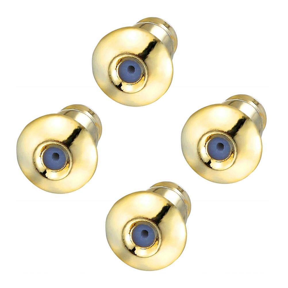 16szt Kolczyki Części Pozłacana biżuteria Akcesori