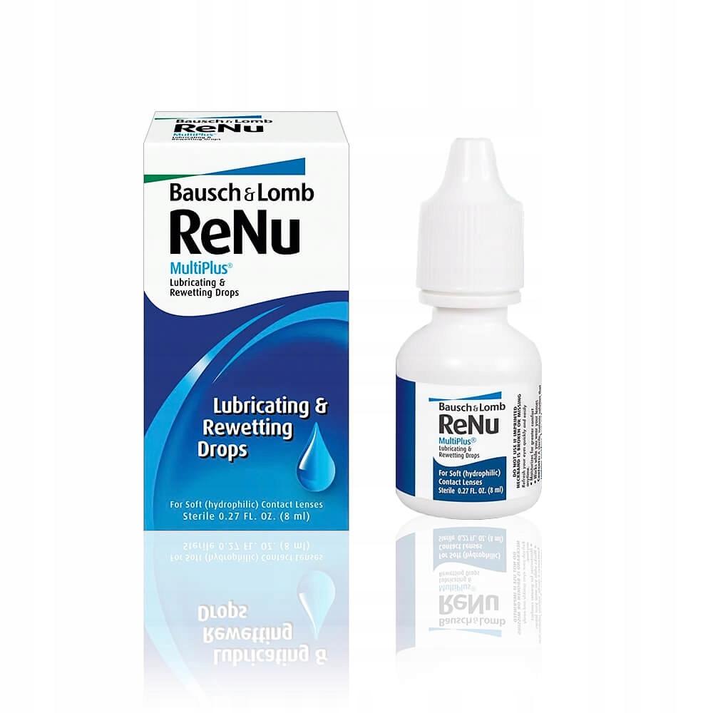 Krople nawilżające do oczu ReNu MultiPlus 04/2021