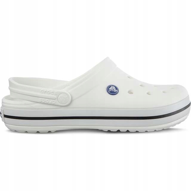 Klapki Crocs Crocband White Męskie 11016 100 r.M11