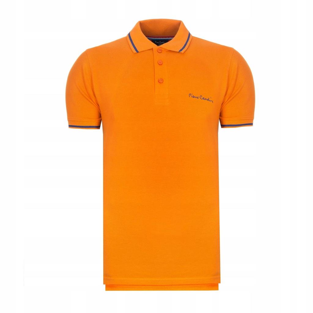 Koszulka polówka POLO PIERRE CARDIN pomarańcz XXL