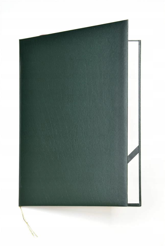 Okładka na dyplom Elegant zielona op. 10szt