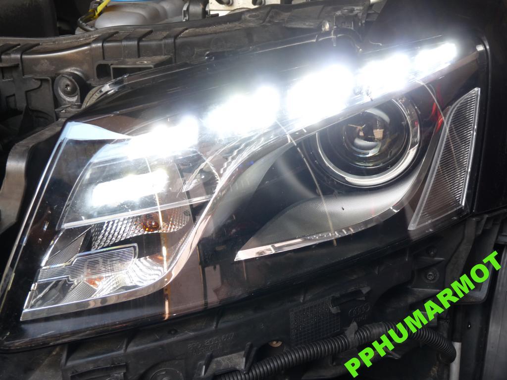 Audi Q5 LED Bi Xenon Montaż Adaptacja Oryginał 8R