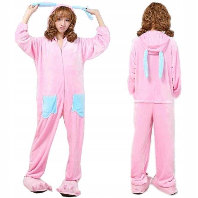 Kombinezon piżama królik ONESIE różowy damski r L