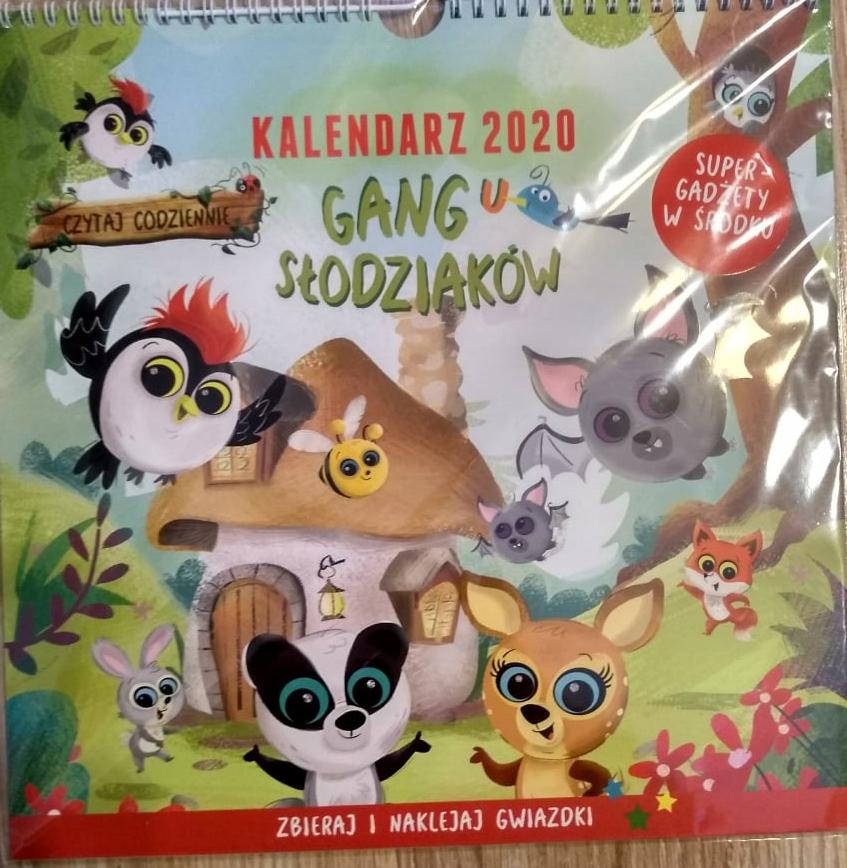 Kalendarz Gang Slodziakow Biedronka 2020 Nowosc 8687681971 Oficjalne Archiwum Allegro