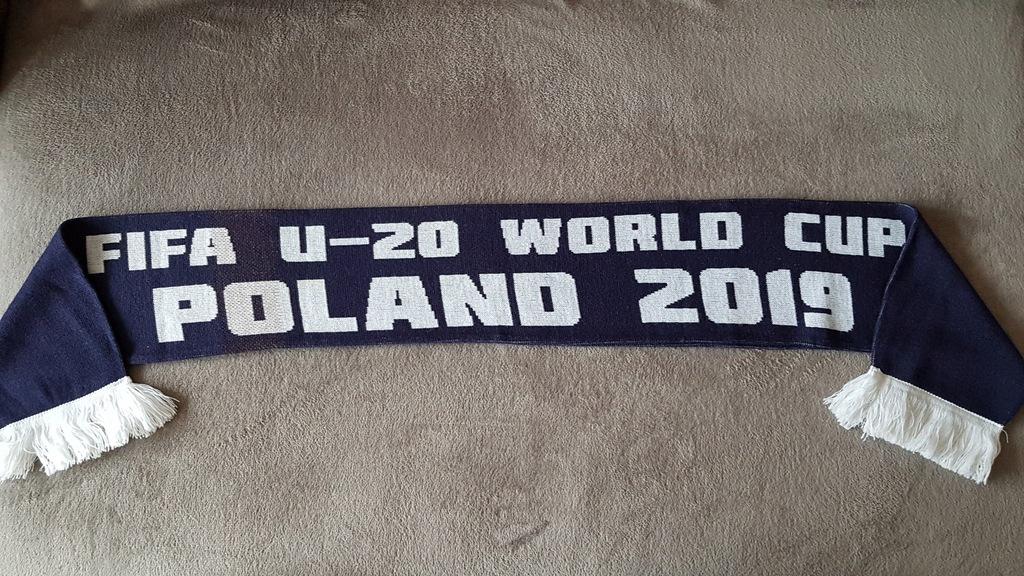 Szalik kibica *Mistrzostwa Świata U-20 Polska 2019
