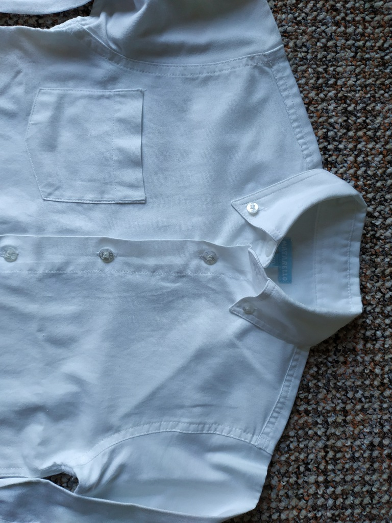 Koszula dziecięca biała wizytowa f. 5 10 15 8191497321  cRIEe