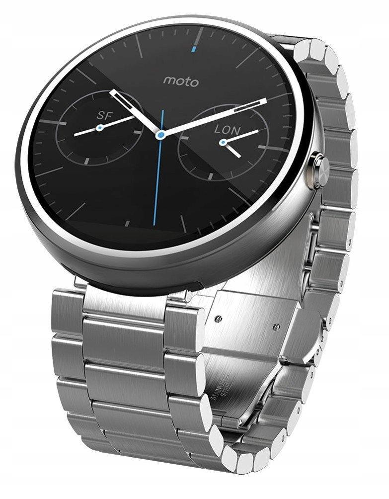 Motorola Moto 360 Metal Edition smartwatch ASW067
