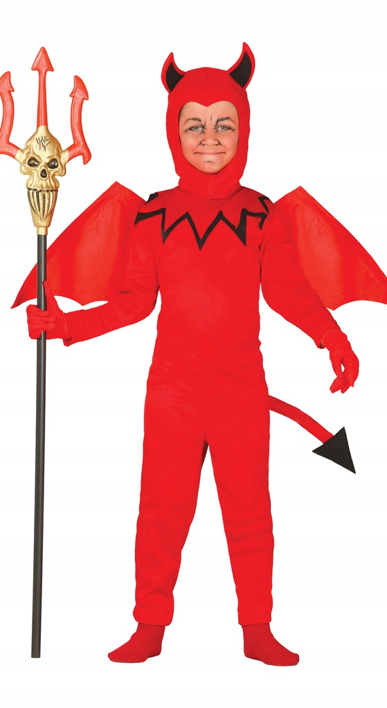 Fiestas Guirca kostium Devil junior poliester czer